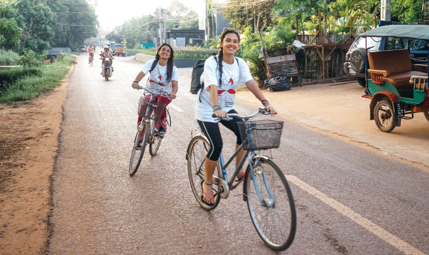 Volunteer in Cambodia - to experience a better commute