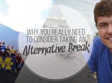 Consider Taking An Alternative Break with IVHQ