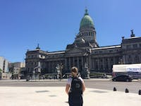 Exploring Buenos Aires, Argentina Church with IVHQ