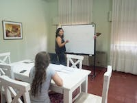 Volunteer Spanish Lesson in Argentina with IVHQ