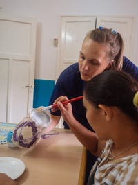 Special Needs volunteer in Argentina with IVHQ