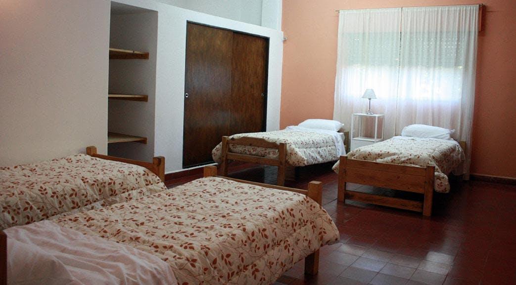 Volunteer dormitory style rooms in Argentina