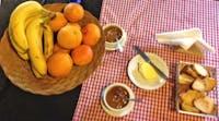Volunteer meals - Breakfast in Argentina