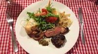 Volunteer meals - Dinner in Argentina