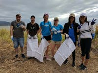 Marine Conservation project volunteers with IVHQ