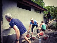 Construction volunteering in Lovina, Bali with IVHQ