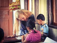 Teaching English volunteer in Lovina, Bali with IVHQ