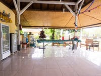 IVHQ Volunteer accommodation social space in Lovina, Bali