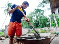 Construction and Renovation volunteer in Bali with IVHQ