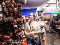 Explore Ubud Markets Bali with IVHQ