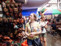 Explore Ubud Markets Bali with IVHQ