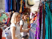 Shopping at Ubud Markets Bali with IVHQ