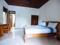 IVHQ volunteer upgraded bedroom in Ubud, Bali