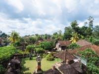 IVHQ volunteer house view in Ubud, Bali