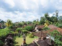 IVHQ volunteer house view in Ubud, Bali