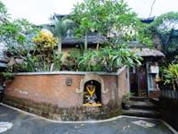 IVHQ volunteer house exterior in Ubud, Bali