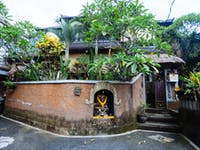 IVHQ volunteer house exterior in Ubud, Bali