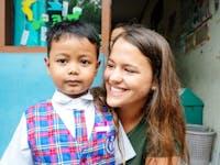 Kindergarten volunteer in Bali with IVHQ