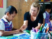 Kindergarten volunteering in Bali with IVHQ