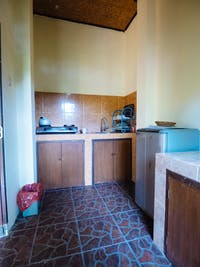 IVHQ volunteer house kitchen in Ubud, Bali