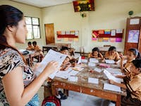 Teaching volunteer in Ubud, Bali with IVHQ