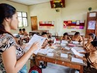 Teaching volunteer in Ubud, Bali with IVHQ