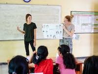 Teaching volunteer in Bali with IVHQ