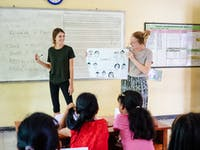 Teaching volunteer in Bali with IVHQ
