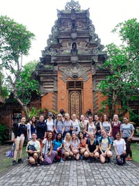 Group of volunteers in Ubud, Bali