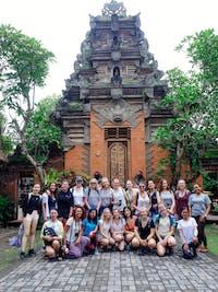 Group of volunteers in Ubud, Bali