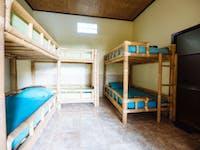 IVHQ volunteer house bedroom in Ubud, Bali
