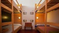 Volunteer bedroom in Barcelona with IVHQ