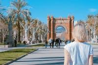 Volunteers exploring Barcelona in Spain during an IVHQ weekend