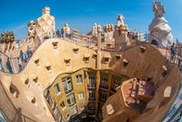 Exploring Barcelona in Spain during an IVHQ weekend