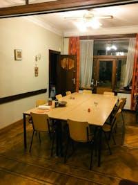 Volunteer Dining room in Belgium with IVHQ