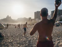 Explore and play volleyball at Ipanema Beach in Brazil with IVHQ
