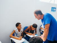 IVHQ volunteer on the Teaching English project in Brazil