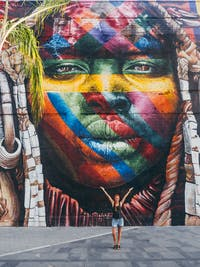 Explore street art in Brazil with IVHQ