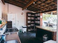 IVHQ volunteer house kitchen in Brazil