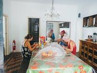 IVHQ volunteers enjoy a meal in Brazil