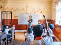IVHQ volunteer teacher in Cambodia