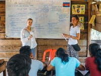 Volunteer teachers with IVHQ in Cambodia