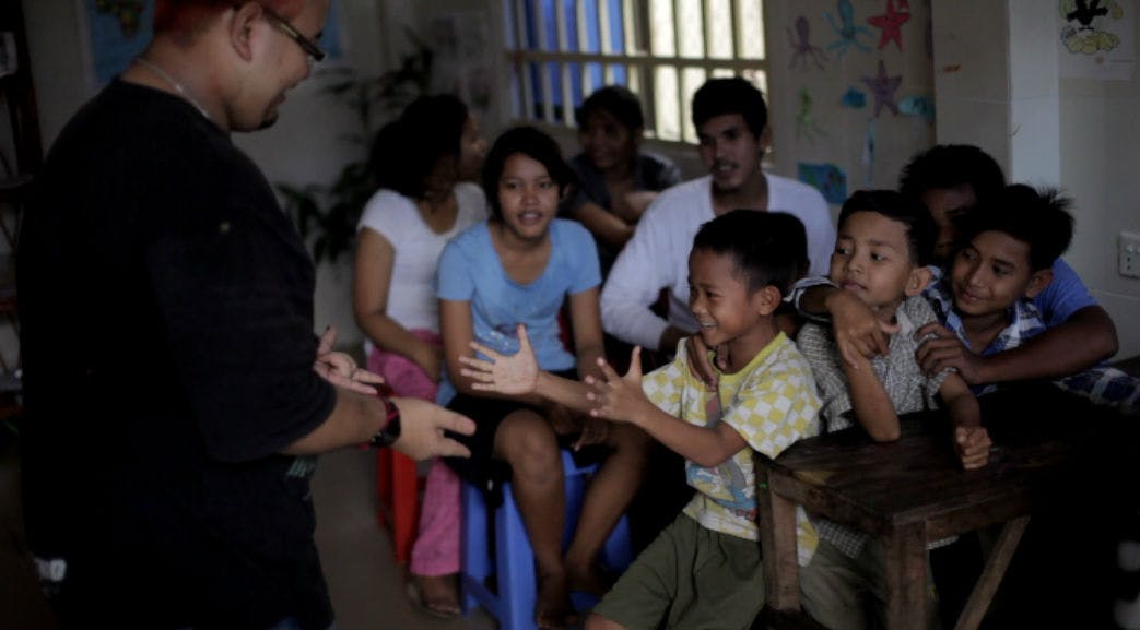 Volunteering on a Childcare project in Cambodia