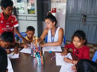 Childcare volunteering in Cambodia with IVHQ