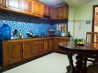 IVHQ volunteer homestay kitchen in Cambodia
