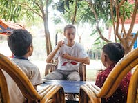 Volunteer teacher in Cambodia with IVHQ
