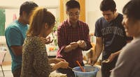 Learning how to make traditional Chinese food