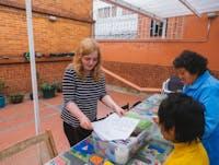 Elderly Care volunteer in Bogota with IVHQ