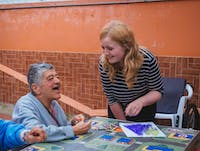 Elderly Care volunteer in Colombia, Bogota with IVHQ