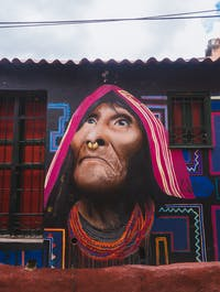 Exploring street art in Bogota, Colombia with IVHQ